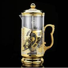 """Чайник заварочный (френч) """"Просечной"""" Златоуст RV0037118CG"""