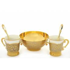 Набор кофейный Златоуст RV0015617CG
