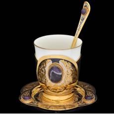 Набор кофейный Златоуст RV0024561CG
