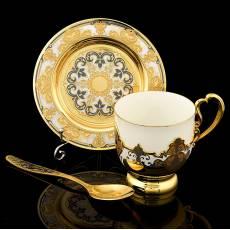 Чайно-кофейная пара. Златоуст RV0037868CG
