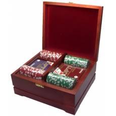 Набор покерный: 250 фишек и две колоды карт RTP-22