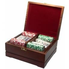 Набор покерный: 250 фишек, колода карт и кости RTP-03