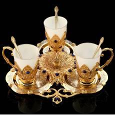 Набор кофейный на 3 персоны Златоуст RV0050627CG
