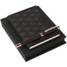 Набор: блокнот A6, ручка роллер LPMR625Y