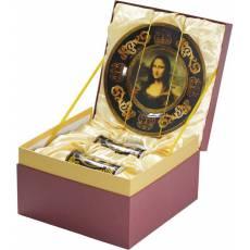 Подарочный набор «Мона Лиза»: блюдо для сладостей, две кружки 827501