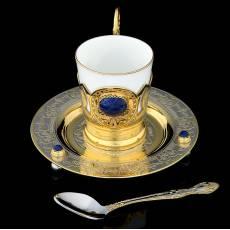 """Чайный набор """"Лазуритовый"""" Златоуст RV0052138CG"""