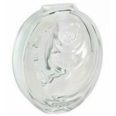 "Ваза для цветов прозрачная ""Carpe Koi bud"" Lalique 10671400"