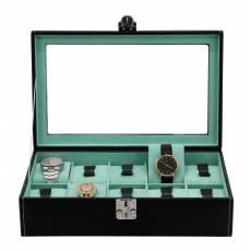 Шкатулка для хранения 10 часов Friedrich Lederwaren от Champ Collection 26127-5