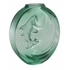 "Ваза для цветов зелёный ""Carpe Koi bud"" Lalique 10671600"