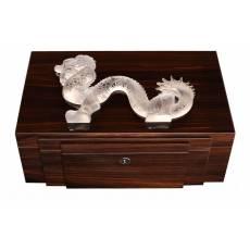 """Шкатулка для украшений """"Dragon"""" прозрачный Lalique 10192900"""