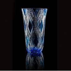 """Ваза для цветов """"Triomphe"""" голубая Faberge 43521LB"""