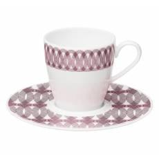 """Набор из 6 кофейных чашек с блюдцами """"Mood"""" Christofle 7685513"""