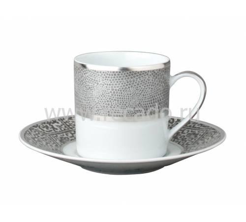 """Кофейная чашка с блюдцем """"Sauvage"""" BERNARDAUD 79Sauvage"""