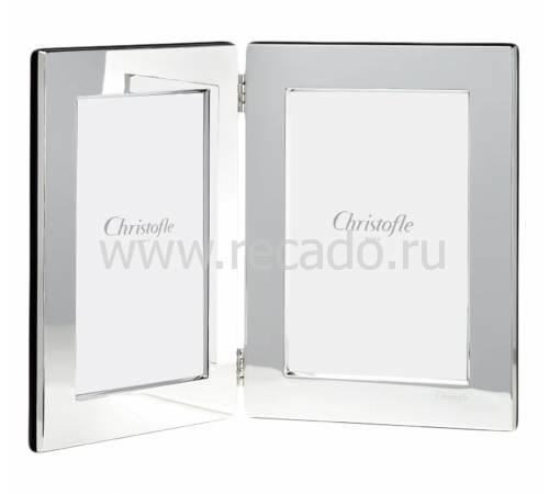 """Рамка для фото двойная """"Fidelio"""" (10х15) Christofle 04256014"""