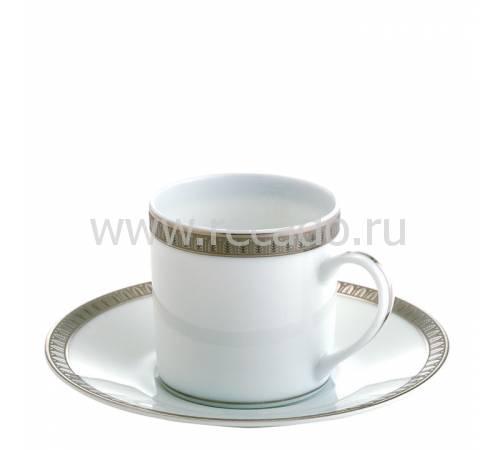 """Кофейная чашка с блюдцем """"Malmaison"""" Christofle 07645510"""
