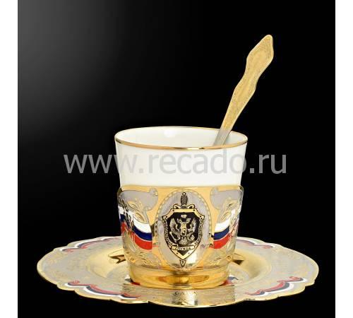 Набор кофейный Златоуст Авторские работы RV0019392CG