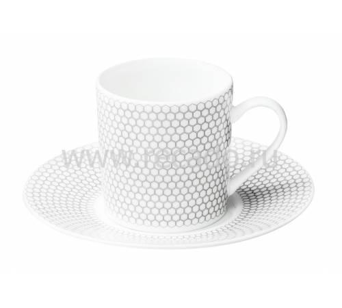 """Чашка кофейная с блюдцем """"Madison 6"""" Christofle 07682510"""