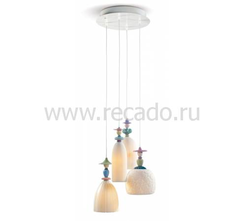 "Люстра ""Мадмуазель гуляя по пляжу"" Lladro 01023554"