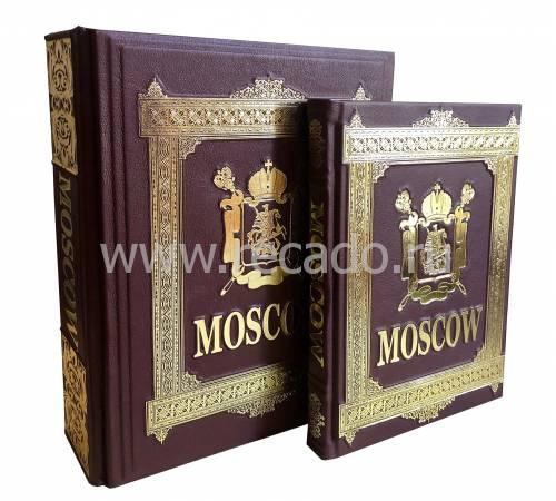 Москва на английском языке в коробе zv659626