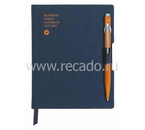 Подарочный набор ручка шариковая+записная книжка CARAN d'ACHE 8491.454